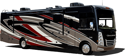 A picture of Thor Motor Coach's Challenger model exterior paint