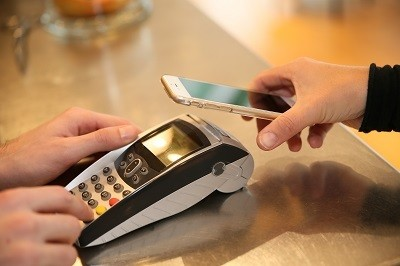 A picture of a general mobile payment app