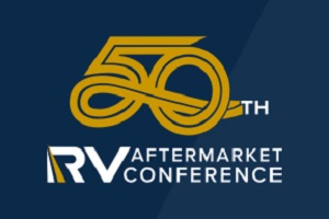 A picture of the 50th RVIA aftermarket conference logo