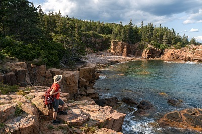 A picture of Acadia National Park in Maine