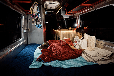 A picture of the Airstream Interstate 24X interior