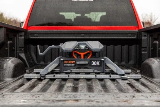 A picture of the Curt PowerRide 30K fifth wheel hitch