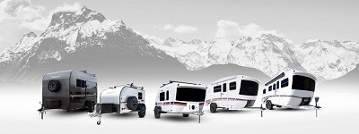 A picture of inTech RV units lined up