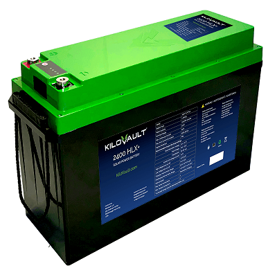 A picture of the KiloVault HLX+ series battery