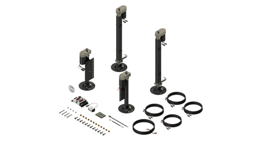 A picture of Lippert's 3.0 Electrical Leveling System