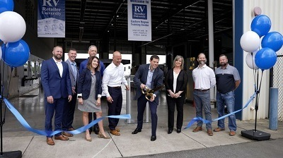 A picture of RV Retailer opening its third training facility