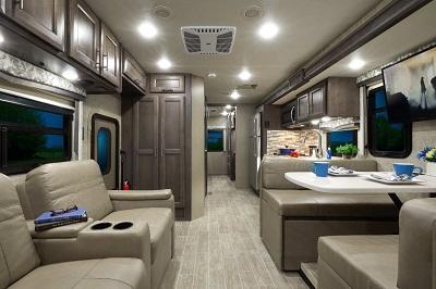 A picture of Thor Motor Coach 2022 Magnitude super C interior