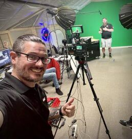 A picture of NRVTA Tech Tip Tuesday video production