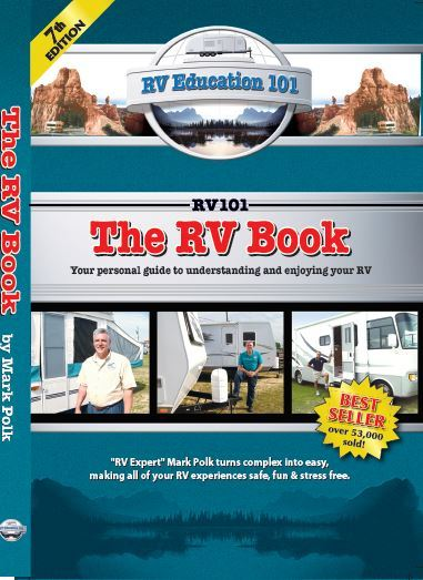 A picture of The RV Book 7th edition cover