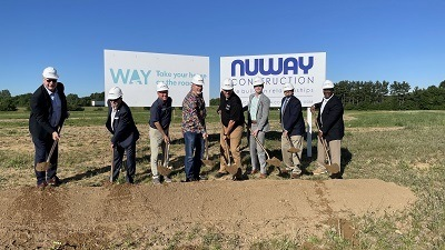 A picture of Ways groundbreaking event at new Elkhart facility
