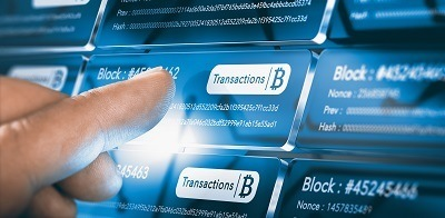 A picture of a general cryptocurrency blockchain payment