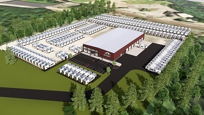 A picture of the future Country Camper dealership site in Connecticut