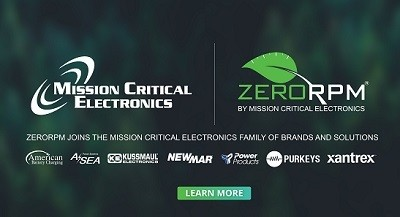A picture of the Mission Critical Electronics family of brands, now including ZeroRPM