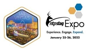 A picture of the 2022 NTP-Stag Expo logo