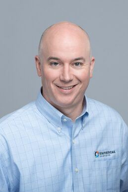 A picture of Statistical Surveys President and CEO Scott Stropkai