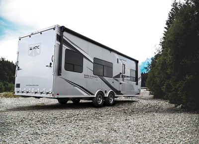A picture of the Aluminum Trailer Company Game Changer RV 2022 model