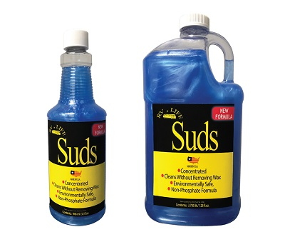 A picture of Suds, an RV soap cleaner released by RV for Life