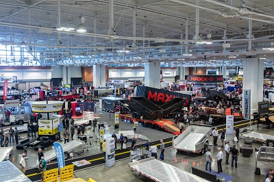 A picture from the exhibit floor at the 2021 NATDA conference in Nashville, Tennessee