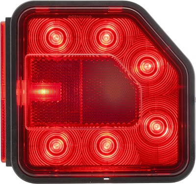 A picture of Optronics International's new LED taillight