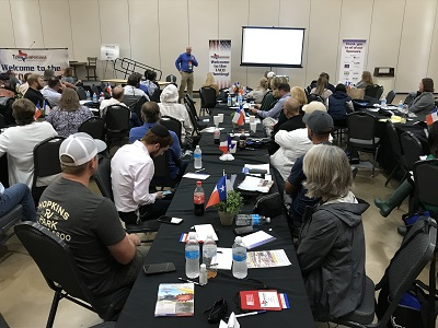 A picture from the Texas Association of Campground Owners' 2021 annual conference