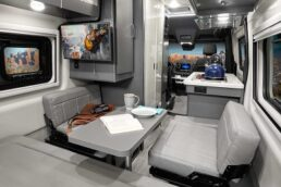 A picture of Thor Motor Coach's 2022 Tranquility B van interior