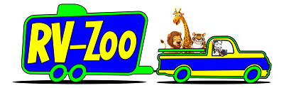 A picture of the RV-Zoo logo for the dealership based in Michigan